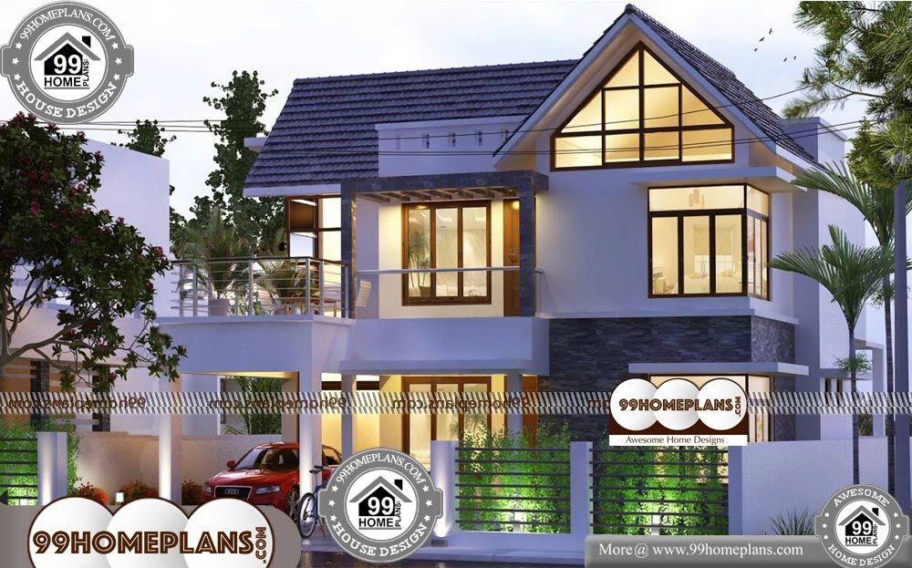 Most Economical House Plans - 2 Story 2200 sqft-Home