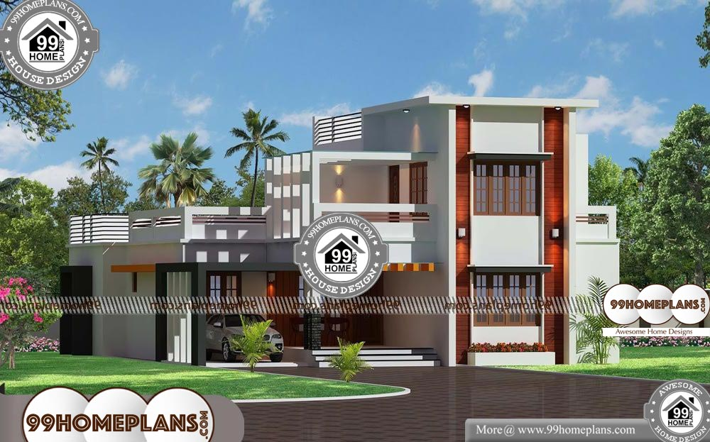 New Home Floor Plans and Prices - 2 Story 2200 sqft-Home