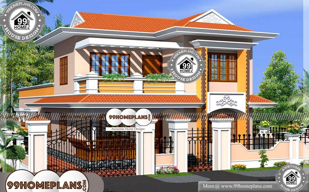 new kerala homes 70 modern double story house designs