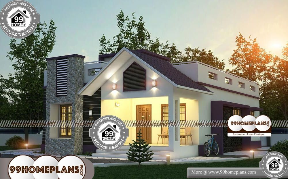 New Single Floor House Plans - One Story 1980 sqft-Home