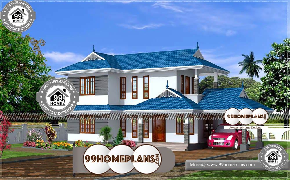 New Style Houses In Kerala 90 Two Floor House Plans