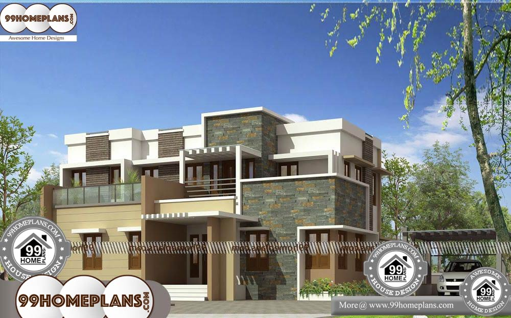 Open Floor Plan Small House - 2 Story 3135 sqft-Home