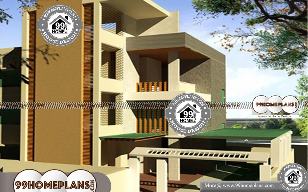 Simple Modern House Designs And Floor Plans 90 3 Story Designs