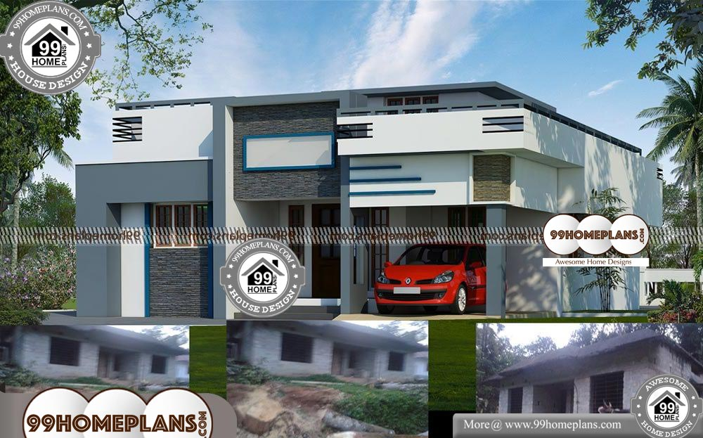 Single Floor House Plans Kerala Style 60 Contemporary House Models