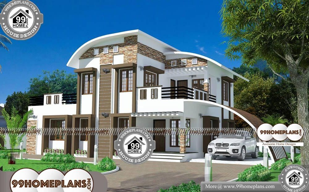 Small Affordable Home Plans - 2 Story 1903 sqft-Home