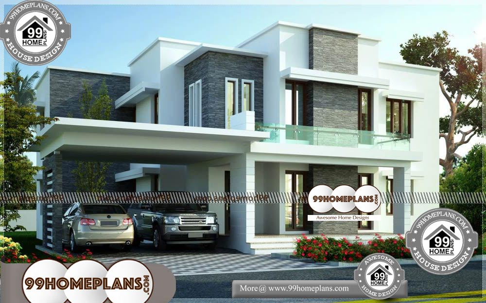 Small Double Story House - 2 Story 3600 sqft-HOME