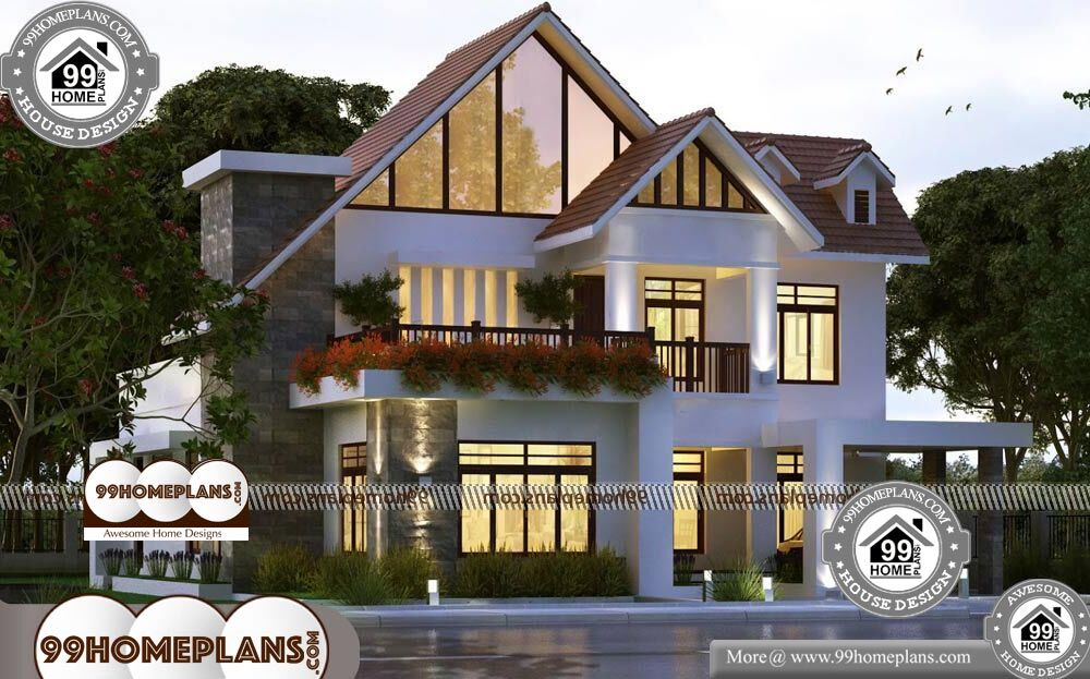 Small Home Plans and Prices - 2 Story 3500 sqft-Home