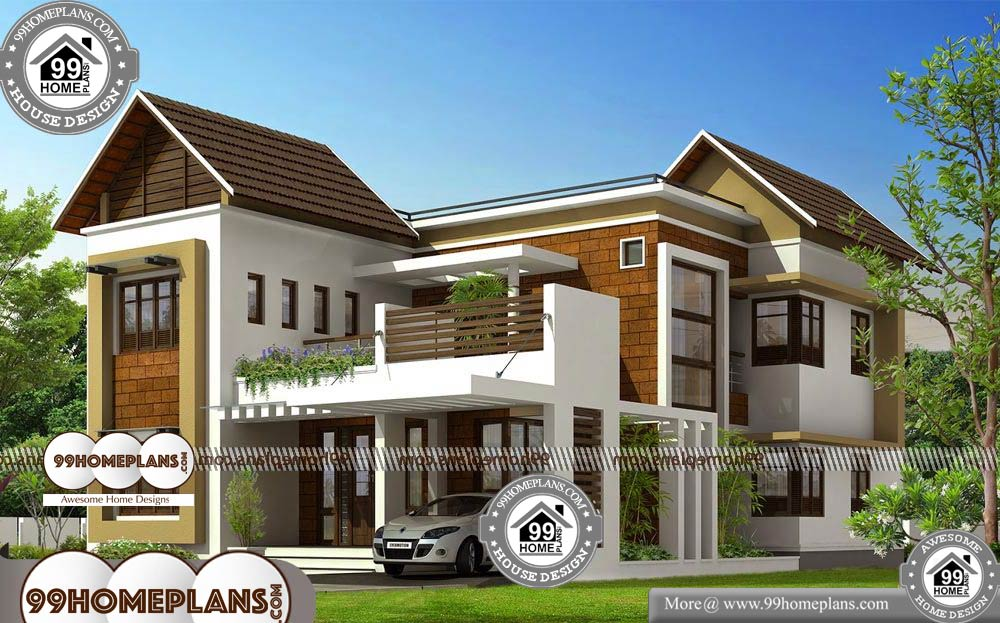 Small Homes Plans and Designs - 2 Story 2825 sqft-Home