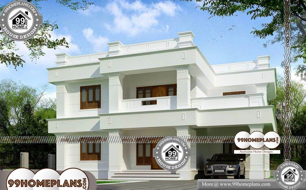 Small Square House Floor Plans - 2 Story 2745 sqft-HOME