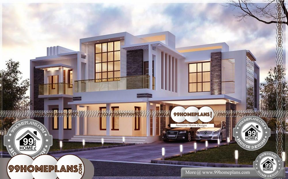 Small Two Storey House - 2 Story 4300 sqft-HOME