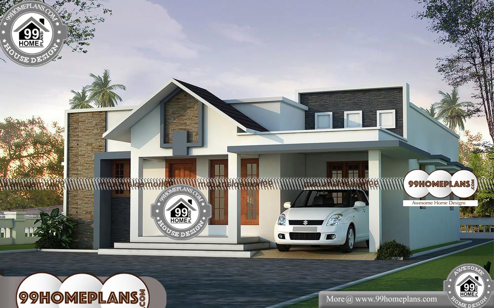 South Indian Single Floor House Plans 75 Simple Budget House Plans