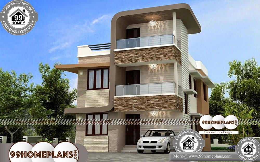 Tall Narrow House | Small Two Storey House Plans & Awesome ...