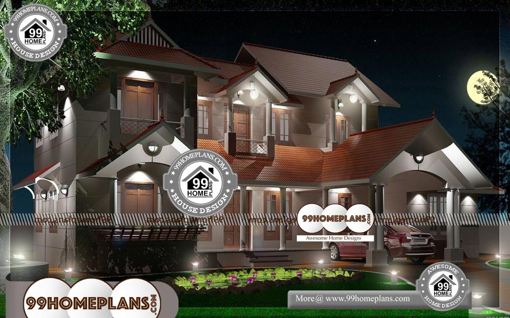 Two Level House Plans - 2 Story 2800 sqft-HOME