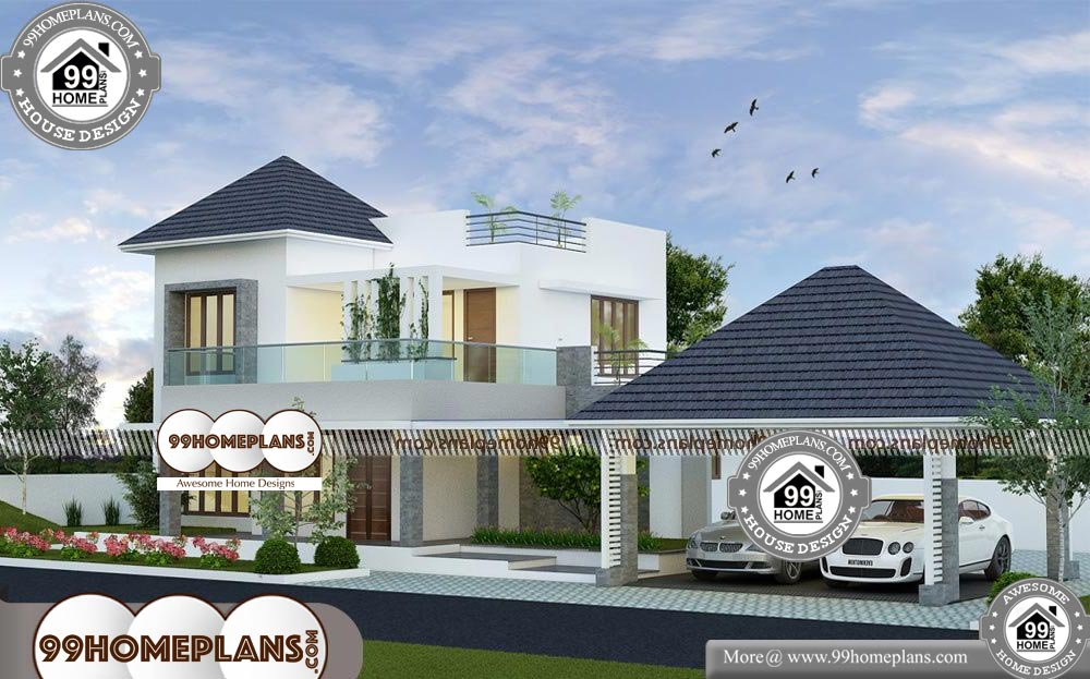 Two Story Home Floor Plans - 2 Story 2123 sqft-HOME