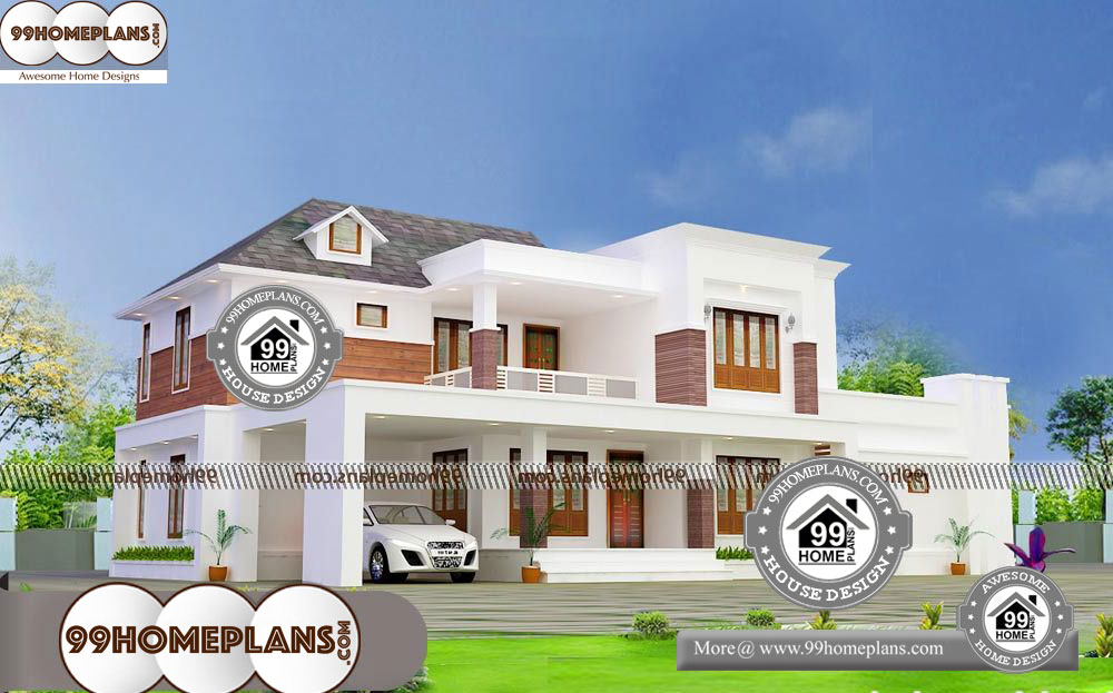 Two Story Small House Design - 2 Story 3130 sqft-Home by