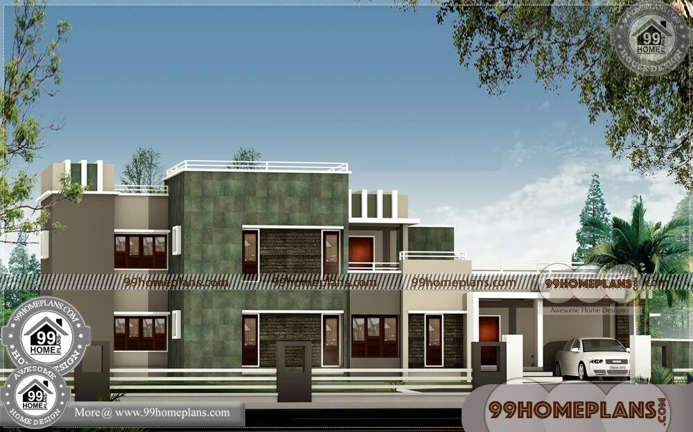 Architecture and Design of Houses | 90+ Cheap Double Storey Homes