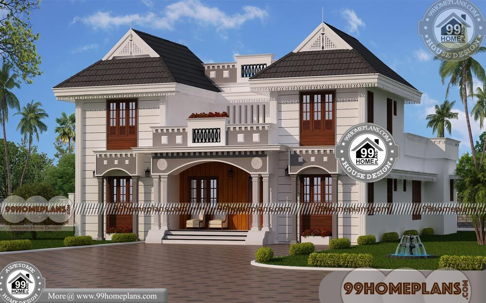Architecture House Design 70+ Two Storey House Design With Terrace