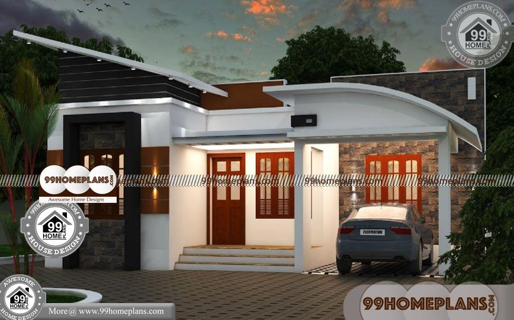 Beautiful One Story Homes & 70+ Kerala Contemporary House Elevations