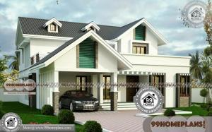 Best 2 Storey House Plans 55+ Traditional Home Elevations Collections