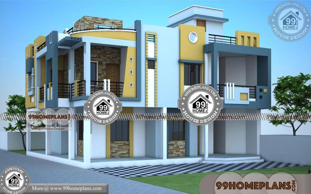 Best Contemporary House Plans 50+ Two Story Homes With Balcony