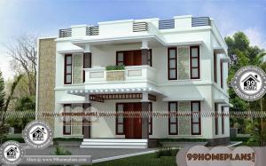 Best Narrow Lot House Plans | 100+ Indian House Designs Double Floor