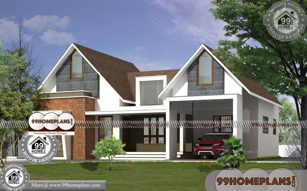 Best Single Floor House Plans 70+ Kerala Traditional Home Plans Free
