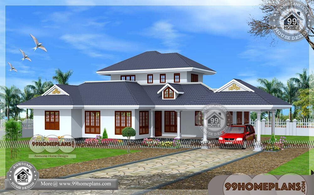 Budget Homes in Kerala 250+ Single Story Modern House Designs Online