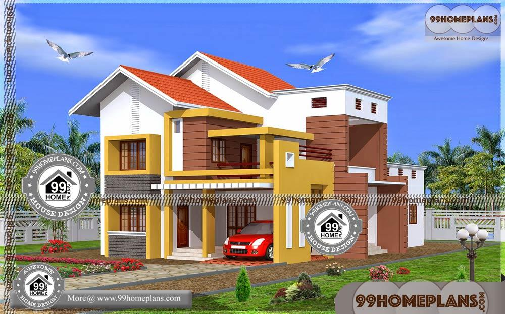 Bungalow House Plans Narrow Lot 70+ Two Storey Homes With ...