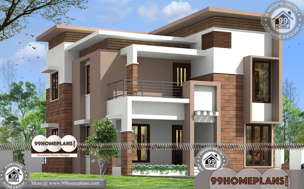 Classic House Styles 70+ Low Cost Double Storey House Plans, Designs