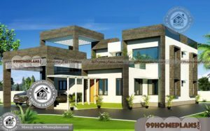 Contemporary Home Floor Plans | 60+ Luxury Double Storey Homes