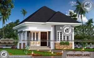Contemporary House Plans One Story | 90+ Kerala House Plans With Cost