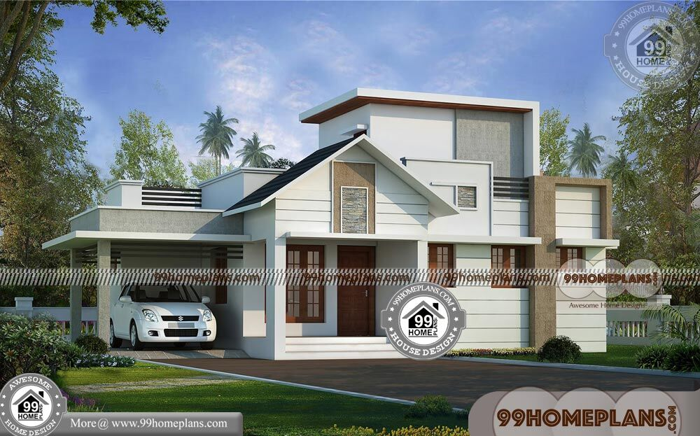 Contemporary House Plans Single Story
