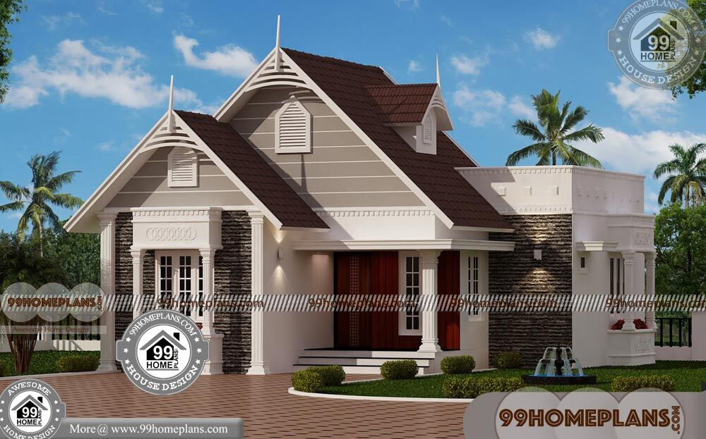 Contemporary One Story House Design 75+ Low Cost Modern ...