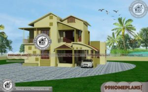 Contemporary Small Homes 60+ Double Floor House Plans New Ideas