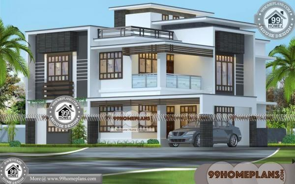 contemporary small house designs 90 latest modern houses 2 floor - Latest Modern Houses