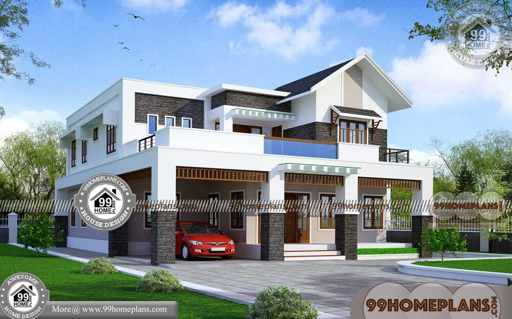 Design Small House Plans 90+ Two Storey Home Plans Modern Ideas