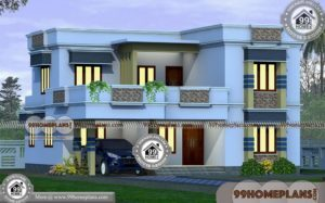Double Floor House Plan Collections | 75+ Simple Home Plans & Ideas