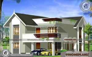 Economic House Design | 45+ Double Story House Floor Plans & Ideas