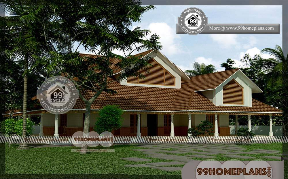 Economical Small House Plans | 60+ Latest Double Storey Homes Plans