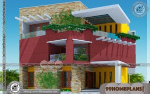 Elevation Designs For 3 Floors Building 70+ Contemporary Style House
