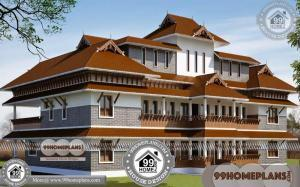 Ettukettu House Plans 60+ Two Story Small House Floor Plans Collections