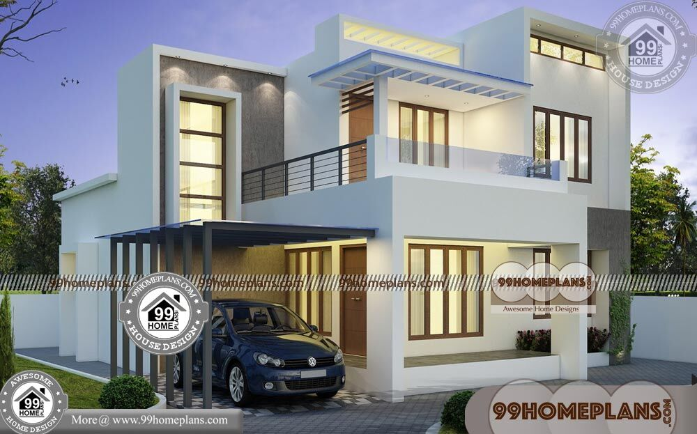 Floor Plan Two Story House 80+ Low Cost Contemporary House ...