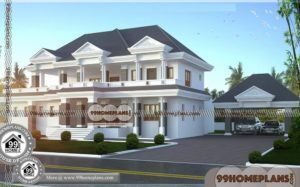 Home Bungalow Design & 80+ Best 2 Storey House Plans New Collections