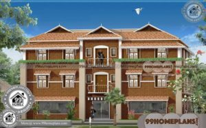 House Designs Kerala Style Low Cost 3 Storey Traditional Kerala Homes