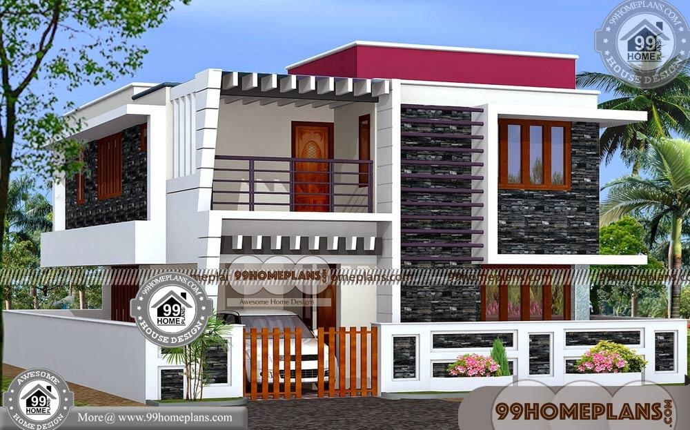 House Plan Design 3D 50+ Small Two Story Home Plans Online Collection