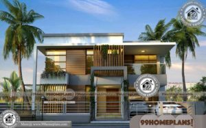 Indian Architect House Designs | 50+ Double Story House Pictures Online
