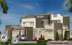 Indian Architecture House Plans 60+ Double Storey Display Homes Free