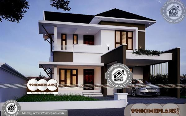 Indian Best House Design 50 Two Storey Home Plans With New Ideas