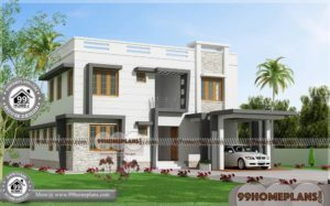 Indian Floor Plans | 100+ Modern Design Two Story Homes & Stylish Plans