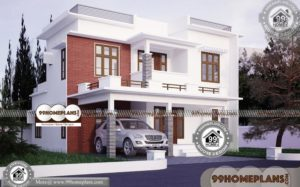 Indian Home Architecture | 50+ 2 Floor Home Design Modern Collections